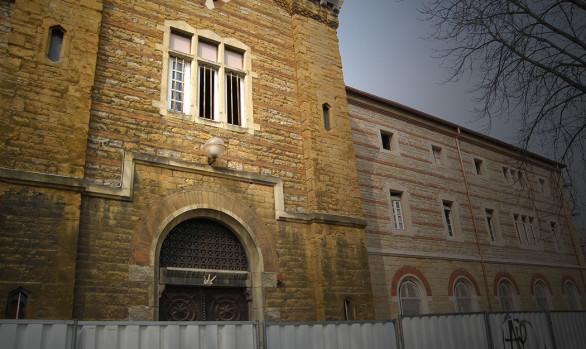 Aérogommage d'une façade classée - Couvent de la Visitation - Lyon